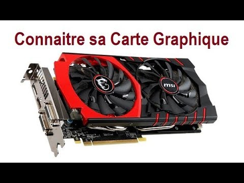 connaitre sa carte graphique windows 10 Comment connaitre sa Carte Graphique sous Windows 10   YouTube