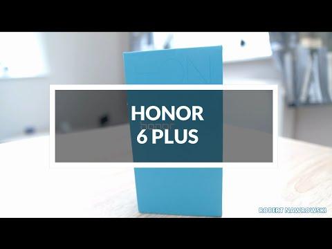 Honor 6 Plus Unboxing PL Rozpakowanie