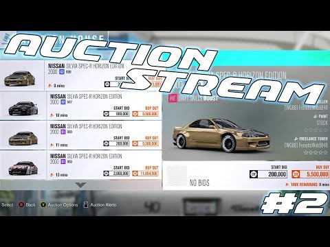 🔴 LIVE | FH3 AUCTION STREAM! Buy One of a Kind Tunes & Paints!