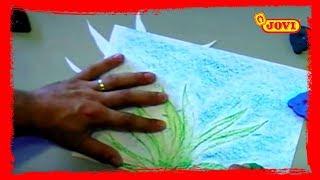 Dibujo Jovi: Fondo Marino - Ceras Oso Mágico