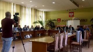 Absolutorium dla Wesołowskiej, LII sesja Rady Powiatu Łaskiego