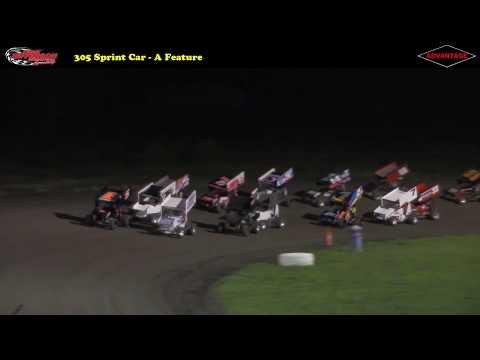 305 and 360 Sprint Car -- 8/19/17 -- Park Jefferson Speedway
