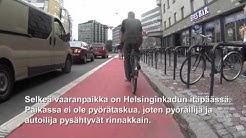 Huomioita liikenteestä 97 - Helsinginkadun pyöräkaista
