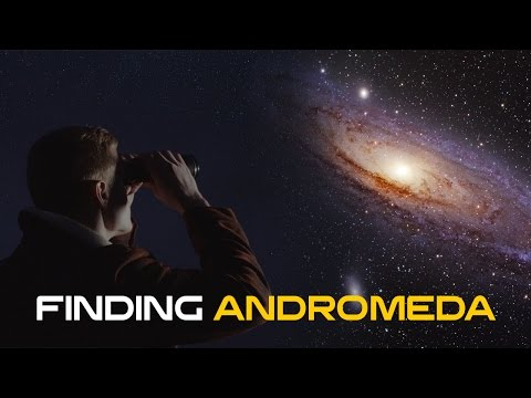 How to Find Andromeda in the Night Sky