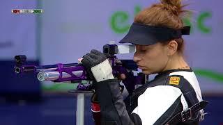 Чемпионат Европы 2018: пневматическая винтовка, женщины