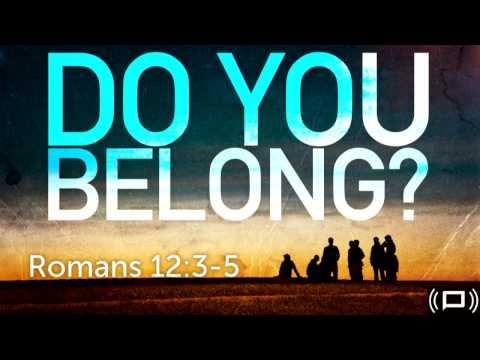 """""""Do You Belong"""" - Pastor Jeff Taylor - 01/21/2017"""