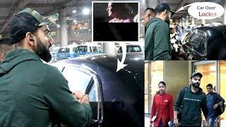 AWW! Anushka Sharma Gives CUTE SURPRISE to HUBBY VIRAT KOHLI at Mumbai airport