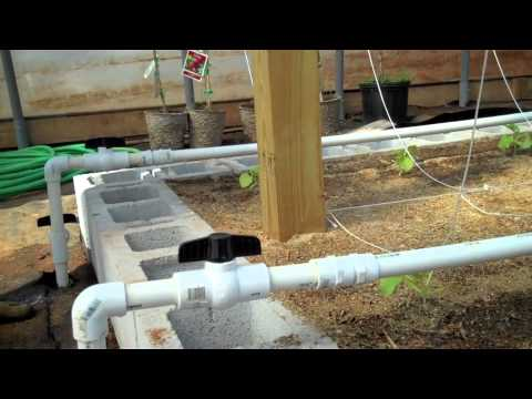 Watering system for raised beds YouTube