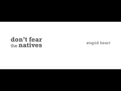 Don't Fear The Natives   Stupid Heart