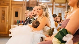 Bride Proudly Breastfeeds Daughter In The Middle Of Her Wedding Ceremony