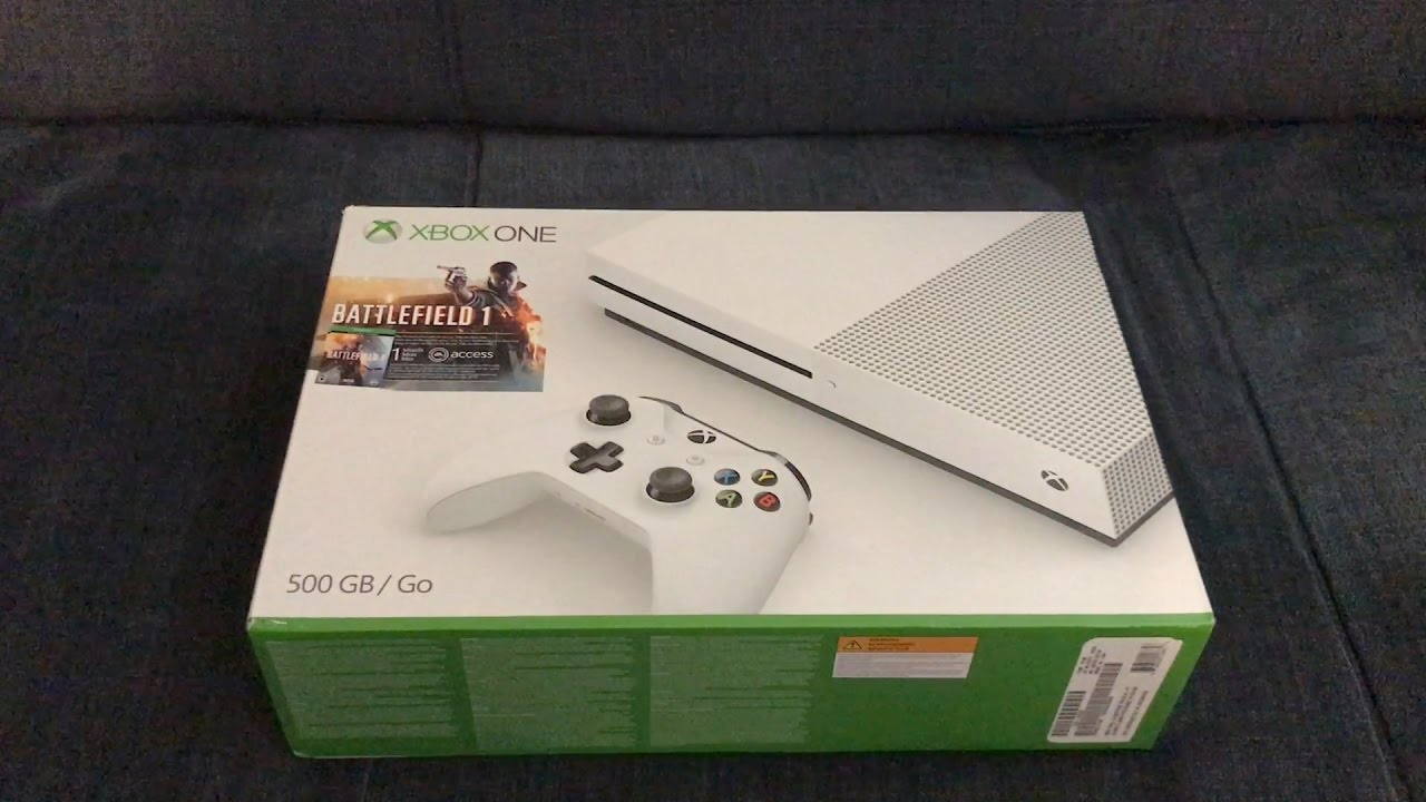 Xbox One S Unboxing Overview Christmas Gift Unboxings
