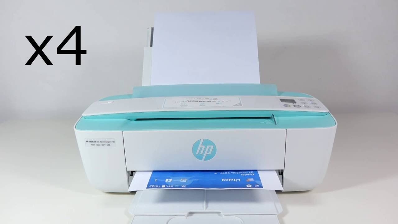 Hp Deskjet 3700 Hands On Youtube