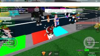 Roblox | Becoming Kid! And meet my classmate!