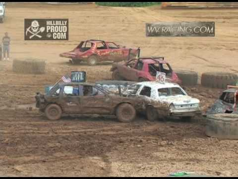 Kings of Karnage Figure 8 Race Full Size Cars Tyler County Speedway July 2, 2016