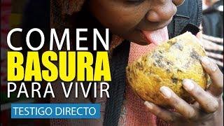 Familias colombianas se alimentan de la basura - Testigo Directo HD