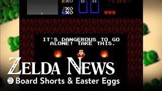 Board Shorts & Easter Eggs | Zelda News