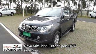 Nova Mitsubishi Triton Sport 2017 - Detalhes - NoticiasAutomotivas.com.br