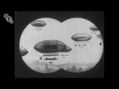 Airship Destroyer (1909) – extract | BFI National Archive
