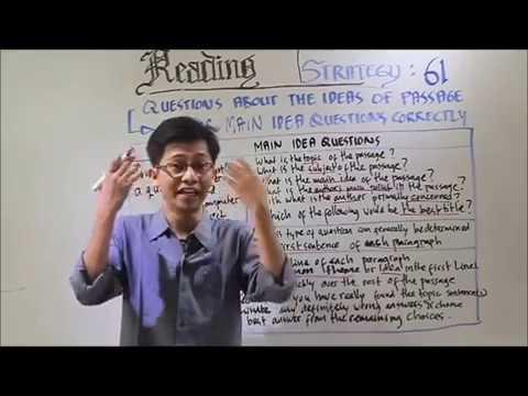 Cara Menjawab Tes Toefl Soal Tes TOEFL Reading Dengan Cepat dan Benar ...