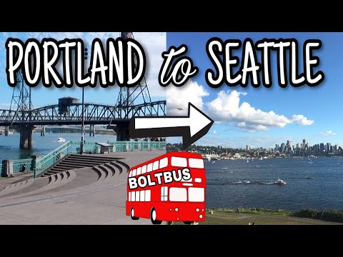 CHEAPEST WAY TO GET FROM PORTLAND TO SEATTLE! Is BoltBus Worth It? BoltBus Review