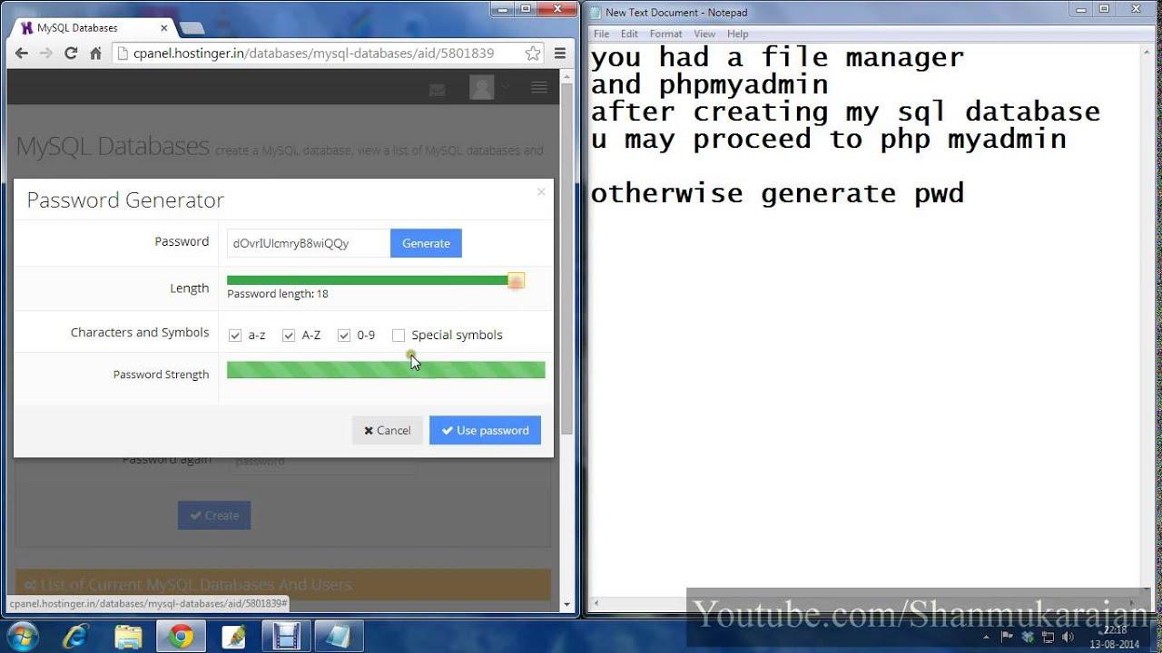 Бесплатный mysql, php хостинг бесплатной хостинг под дорвей