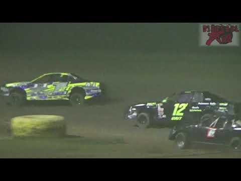 Salina Speedway - 7-27-18 - Coors Light Stock Car A Feature