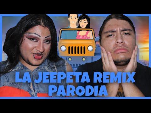 La Jeepeta Remix (PARODIA) Nio Garcia x Brray x Juanka x Anuel AA x Myke Towers
