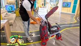 SMART TRIKE- singura tricicleta ce poate fi folosita incepand de la varsta de 6 luni a copilului !(Doar Smart Trike a trecut cele mai exigente teste anti-rasturnare si anti-toxicitate ,teste concepute de laboratoare de renume mondial!, Neatza cu Razvan si Dani ..., 2014-04-23T11:23:00.000Z)