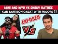 Abhi and Niyu vs Dhruv Rathee   Rashmi Samant oxford university   Abhi and Niyu exposed?   Tweets