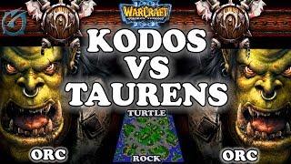 Grubby | Warcraft 3 TFT | 1.29 | ORC v ORC on Turtle Rock - Taurens vs Kodos