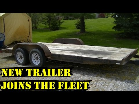 New Car Trailer for the 2017 Derby Season