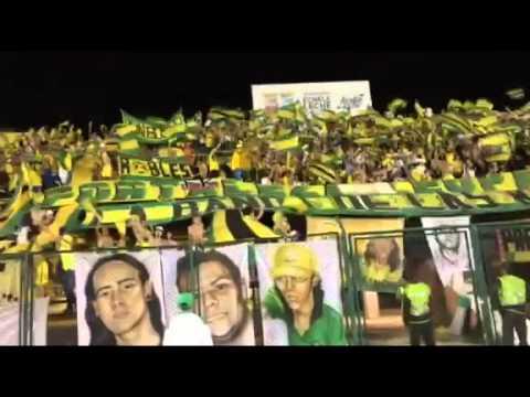 Himno de santander, Atl. bucaramanga vs millonarios 23/04/2016 FORTALEZA LEOPARDA SUR
