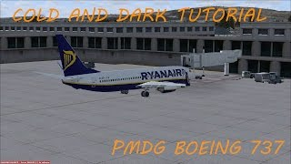 [FSX]►Cold and Dark tutorial→PMDG B737◄[CZ/SK]