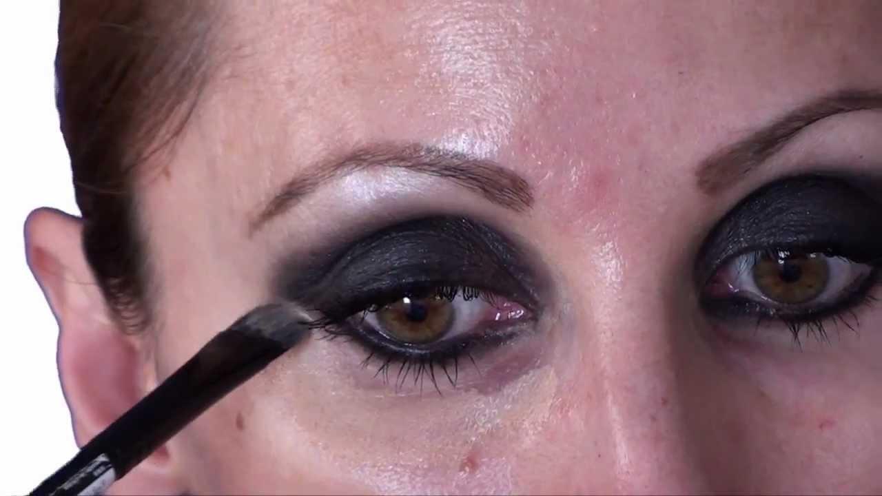 mgdmakeup maquillaje de noche look ojos ahumados negros youtube