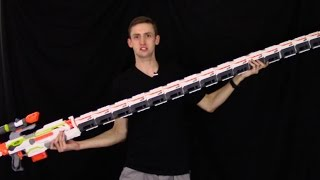 WORLD'S LONGEST NERF GUN?!