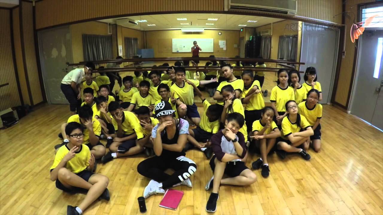 Marsiling Secondary Hip Hop Program And Aces Day Workout