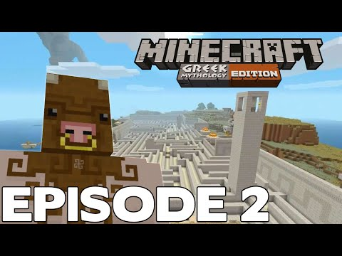[Episode 2] Minecraft GREEK MYTHOLOGY sur Xbox One en Multi DLC Gameplay Français FR !