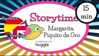 Bilingual Storytime for children - Margarita, Piquito de oro (Goldilocks and the 3 bears)