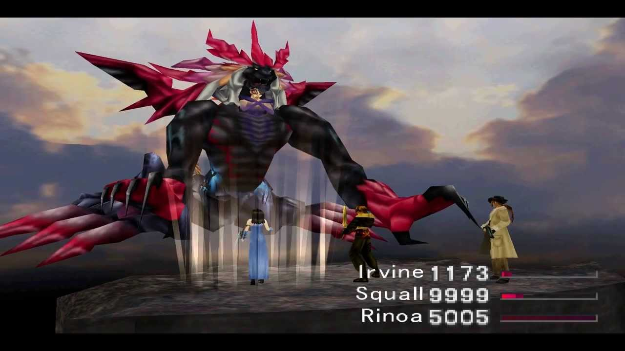 Final fantasy viii walkthrough parte 126 final boss for Final fantasy 8 architecture