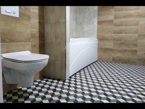 Интересные ДизайнерСкие Решения ? при ремонте ванных комнат СовмеЩенной с Туалетом