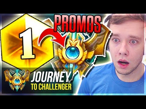 WTF?! RANK 1 PLAYER IS IN MY DIAMOND PROMOS?? - Journey To Challenger   League of Legends
