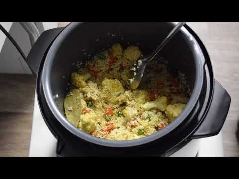 Easy to make and quick cooking of Mix Vegetable Rice in Instant Pot / Pressure cooker