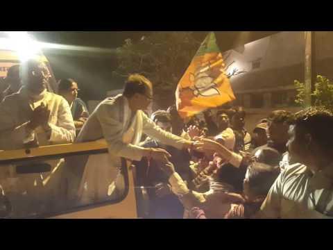 #SHAHDOL (M.P.) Cm shri #SHIVRAJ SINGH JI bhavya swagat by #SHAKTI LAKSHKAR ND #GOLDY DUBEY ....