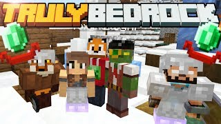 Hero of the Village CHALLENGE! - Truly Bedrock - S1 E00  - Minecraft SMP [1.11]