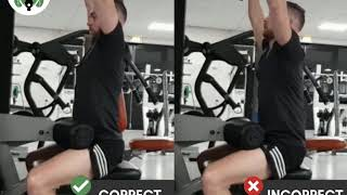 Lat pull-down do's & don'ts