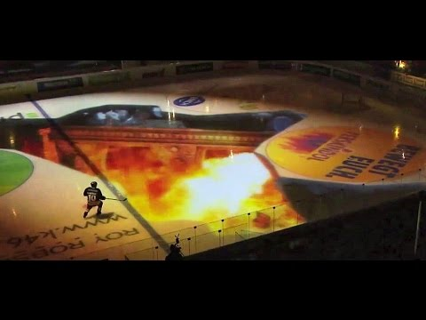 Ice Hockey Pre Game Show: Great Fun - Dragon, Sharks and Star Wars !