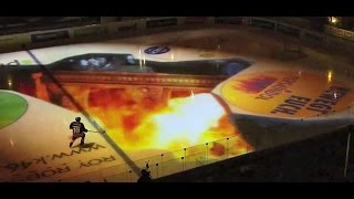 Ice Hockey Pre Game Show: Great Fun  Dragon, Sharks and Star Wars !