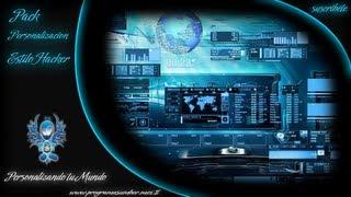 Personaliza tu PC al Estilo Blue Hacker