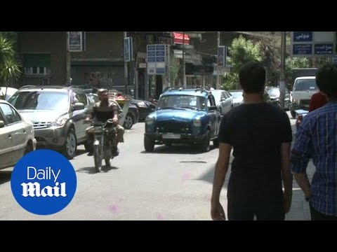 Syrians in Damascus shrug off U.S. strike threats - Daily Mail