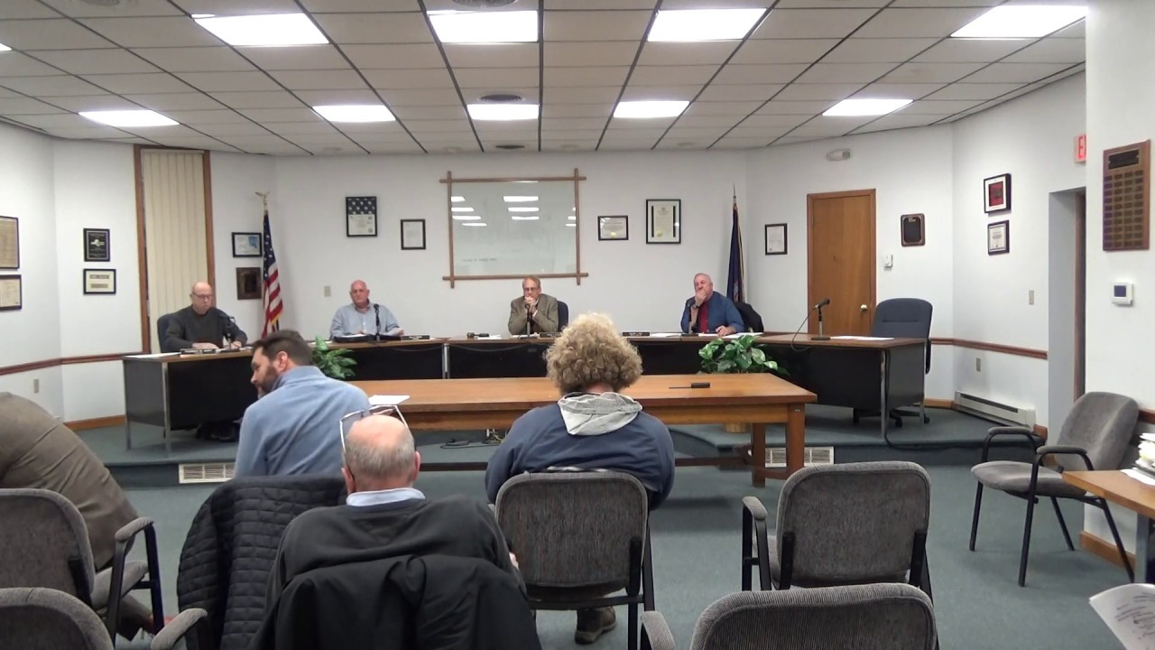 Rouses Point Village Board Meeting  11-18-19